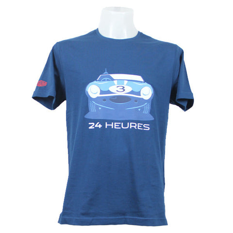 Jaguar Heritage '57 Graphic 24 Heures T-Shirt – Navy