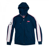 Jaguar Heritage '57 Men's Racing Zip Through Hooded Top