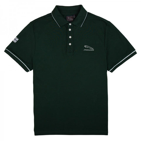 Jaguar Men's Polo Shirt - Green