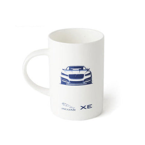 Jaguar X760 Ceramic Mug