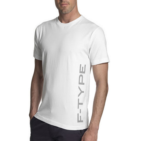 Jaguar Men's F-TYPE Crew Neck T-Shirt - White