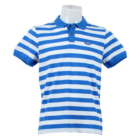 Land Rover Men's Striped Polo Shirt