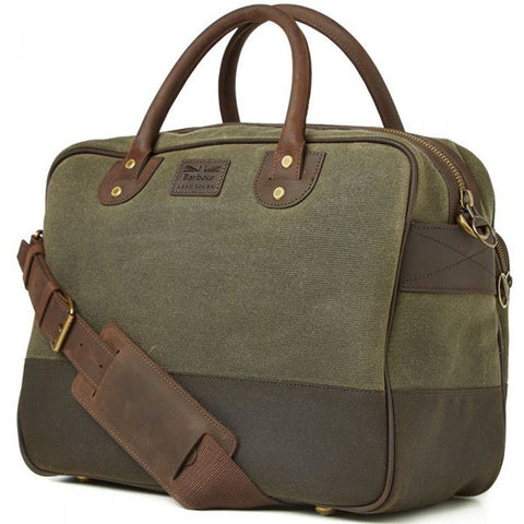 Land Rover x Barbour Briefcase