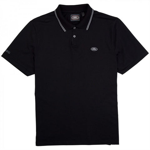 Land Rover Men's Polo Shirt - Black