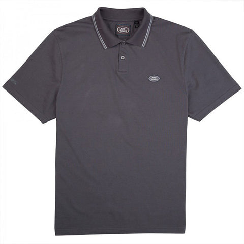 Land Rover Men's Polo Shirt - Grey