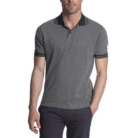 Land Rover Men's Polo Shirt – Grey Marl