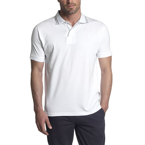 Land Rover Men's Polo Shirt – White