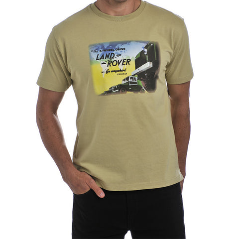Land Rover Men's Heritage T-Shirt - Range
