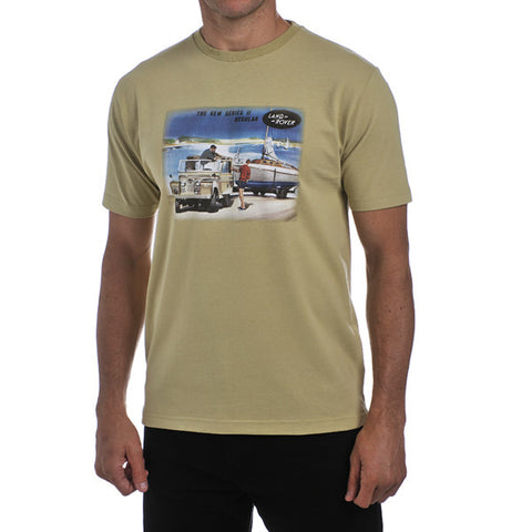 Land Rover Men's Heritage T-Shirt- Lifestyle