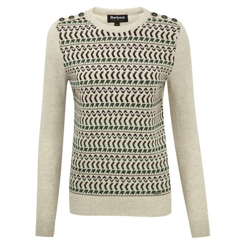Land Rover x Barbour Ladies Stydon Pearl Jumper