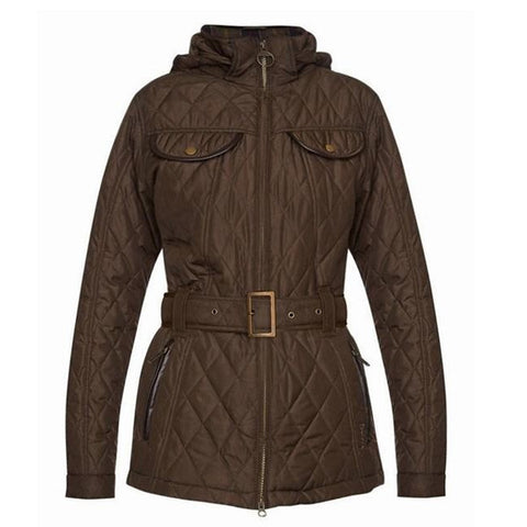 Land Rover x Barbour Ladies Clovencrag Jacket - Olive