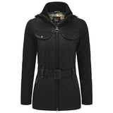 Land Rover x Barbour Ladies Clovencrag Jacket - Black