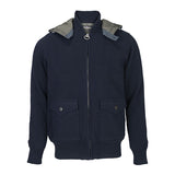 Land Rover x  Barbour Chirdon Men's Sweater Jacket - Navy