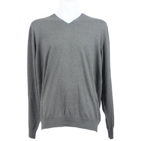 Land Rover Men's V-Neck Sweater - Grey
