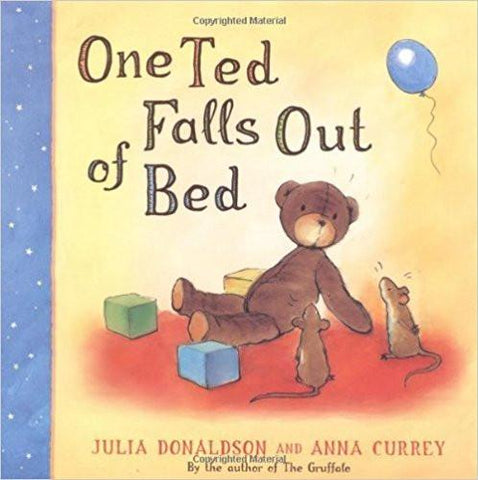 Children's Books Outlet | One Ted Falls Out of Bed by Julia Donaldson