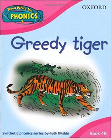 Children's Books Outlet |Greedy Tiger by Ruth Miskin