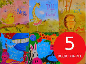 Children's Books Outlet |Rumble in the Jungle: 5 Book Bundle