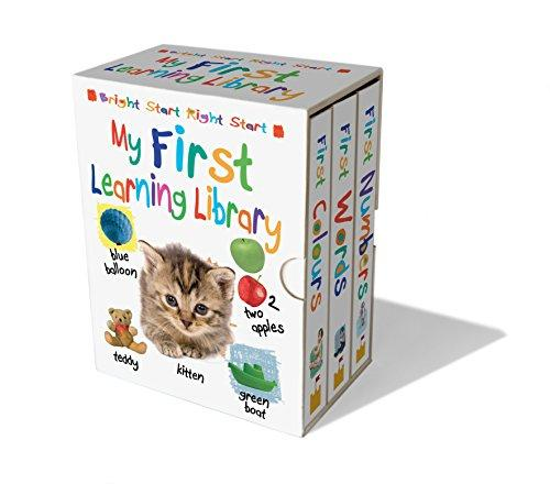 My First Learning Library 3 Book Set