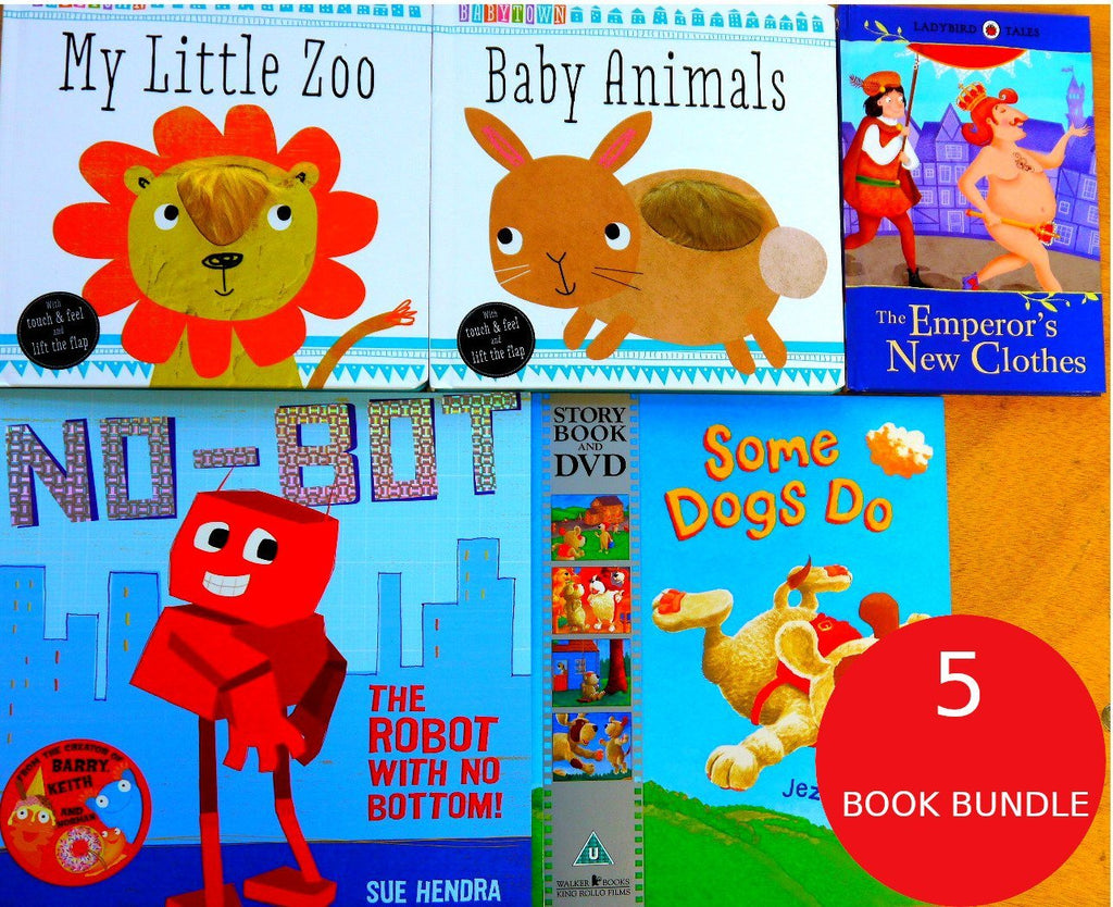 Children's Books Outlet |Toddler Baby: 5 Book Bundle