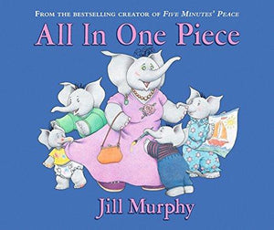 Children's Books Outlet |All In One Piece by Jill Murphy