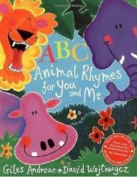 Children's Books Outlet |ABC Animal Rhymes for You and Me by Giles Andreae