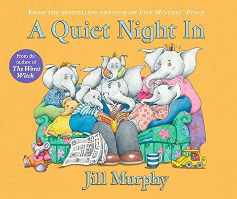 Image of Children's Books Outlet |A Quiet Night In Jill Murphy