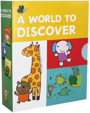 Children's Books Outlet |A World to Discover 3 Book Set