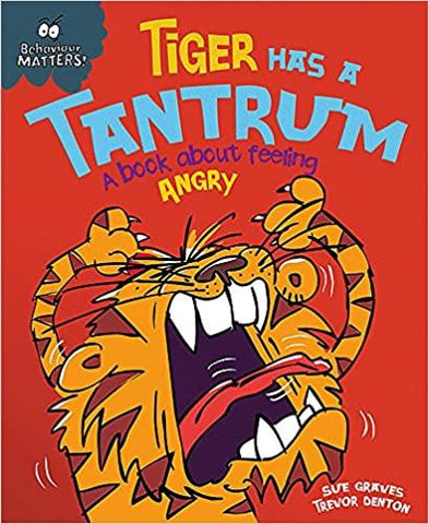 Children's Books Outlet | Behaviour Matters Tiger Has a Tantrum
