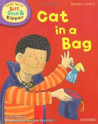 Children's Books Outlet |Biff, Chip And Kipper: Cat in a Bag Level 1 Oxford Reading Tree