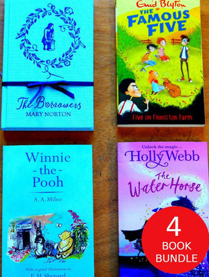 Children's Books Outlet |Classic Kids Reading: 4 Book Bundle
