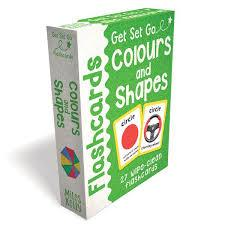 Children's Books Outlet |Flashcards Colours & Shapes