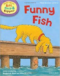 Biff, Chip And Kipper: Funny Fish Level 1 Oxford Reading Tree