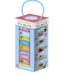 First Look at Animals 10 Chunky Book Tower Set