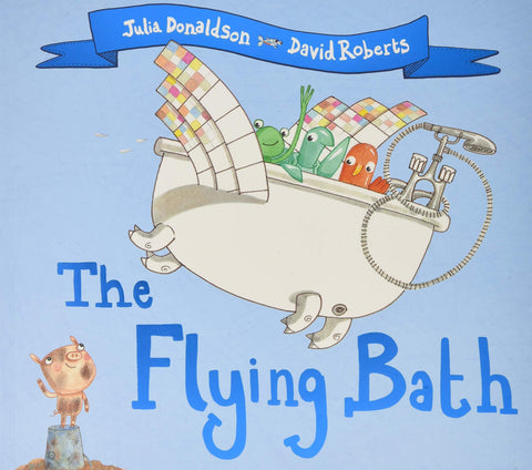 Children's Books Outlet |The Flying Bath by Julia Donaldson