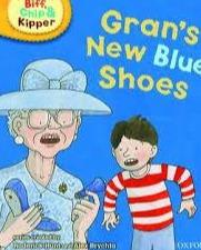 Outlet libri per bambini | Biff, Chip e Kipper Gran's New Blue Shoes Level 3 Oxford Reading Tree