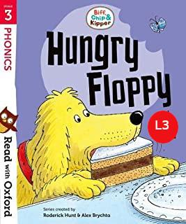Outlet libri per bambini | Biff, Chip e Kipper Hungry Floppy Level 3 Oxford Reading Tree
