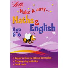 Children's Books Outlet |Letts Make it Easy Maths and English  (Age 5-6)