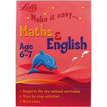 Children's Books Outlet |Letts Make it Easy Maths and English  (Age 6-7)