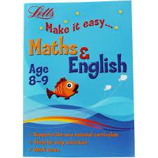 Children's Books Outlet | Letts Make it Easy Maths and English  (Age 8-9)