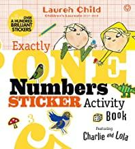 Children's Books Outlet |Charlie and Lola Numbers Sticker Activity Book by Lauren Child