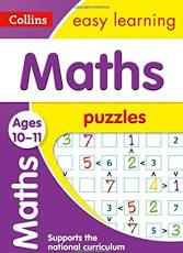 Children's Books Outlet |Easy Learning Maths Puzzles 10 to 11 years by Colliins