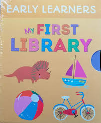 Children's Books Outlet | My First Library 3 Book Set