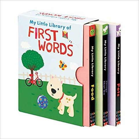 Children's Books Outlet |My Little Library of First Words 3 Book Set