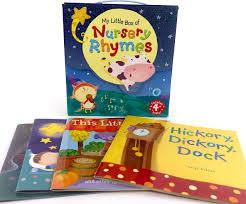 Children's Books Outlet |My Little Box of Nursery Rhymes 4 Book Set