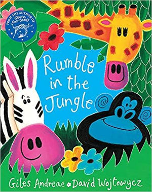 Children's Books Outlet |Rumble in the Jungle by Giles Andreae
