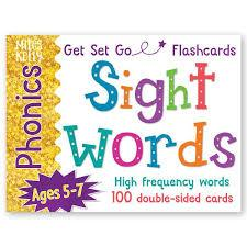Phonics Cards Sight Words