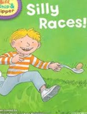 Children's Books Outlet |Biff, Chip And Kipper: Silly Races Level 1 Oxford Reading Tree
