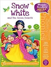 Children's Books Outlet |Snow White and the Seven Dwarfs Phonics Activity Book Age 4 to 6