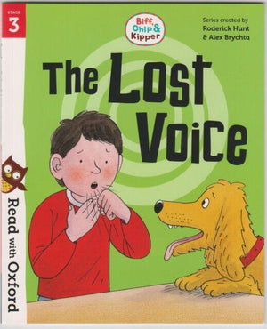Cărți pentru copii Outlet | Biff, Chip And Kipper The Lost Voice Level 3 Oxford Reading Tree