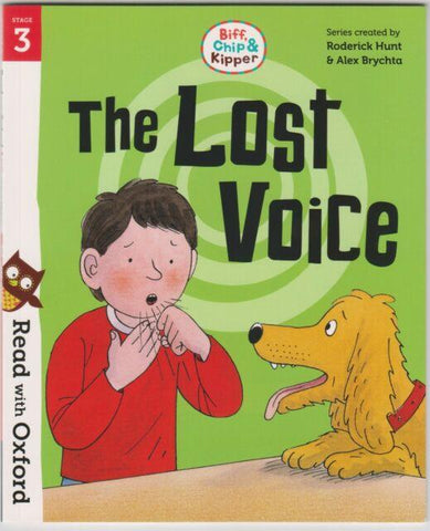 Outlet libri per bambini | Biff, Chip e Kipper The Lost Voice Level 3 Oxford Reading Tree